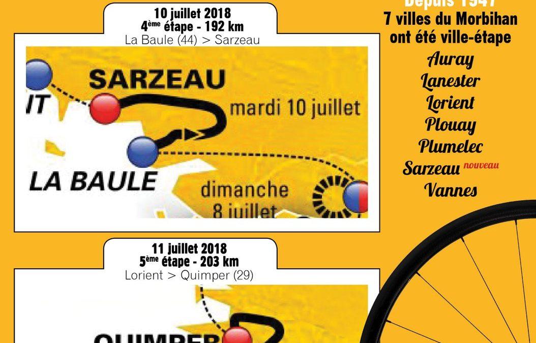 Le Chevalier Gambette au cœur du Tour de France 2018